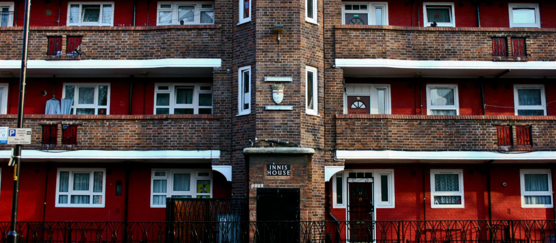 Housing estate in London.