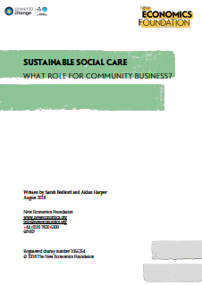 Sustainable social care