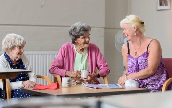 Putting the 'social' back into social care