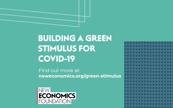 Building a green stimulus for Covid-19