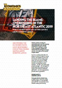 Landing the blame: overfishing in the North East Atlantic 2019