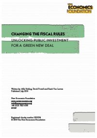 Changing the fiscal rules