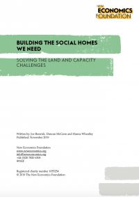 Building the social homes we need