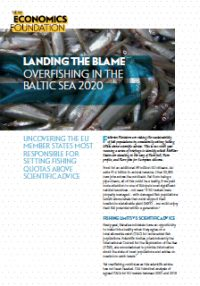 Landing the blame: overfishing in the Baltic Sea 2020