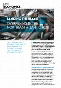Landing the blame: overfishing in the Northeast Atlantic 2020