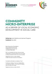 Community micro-enterprise in social care