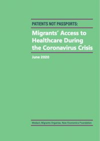 Migrants' access to healthcare during the coronavirus crisis