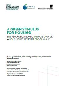A green stimulus for housing