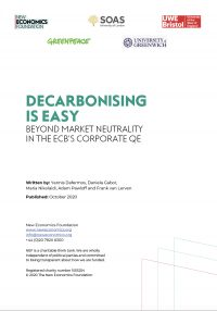 Decarbonising is easy